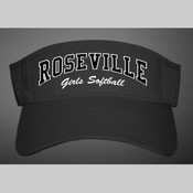 Roseville Girls Softball Visor