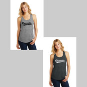 Roseville Girls Softball Tri Blend Tank Top
