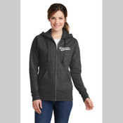 Roseville Girls Softball Ladies Full Zip Hoodie