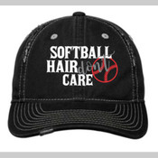Softball Hair Don't Care Cap